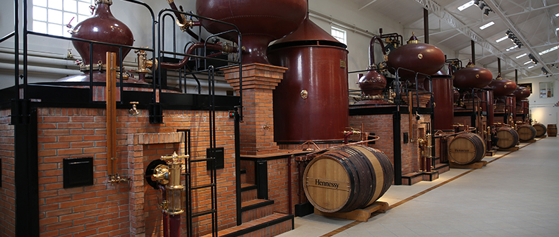 """From Grape to Glass"" takes you on a tour of the Peu distillery, the soul of Hennessy's production."